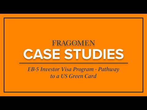 EB-5 Investor Visa Program - Pathway to a US Green Card