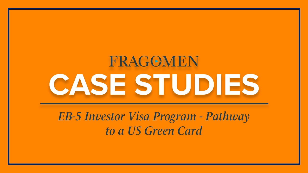 Eb 5 Investor Visa Program Pathway To A Us Green Card Youtube
