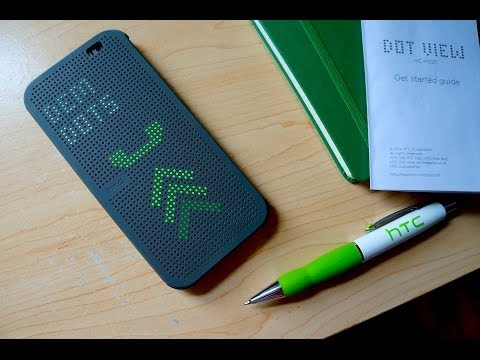 HTC Dot View Case Review: Hip but Stiff