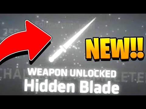 BRAND NEW OP HIDDEN BLADE WEAPON - Shellshock Live Showdown