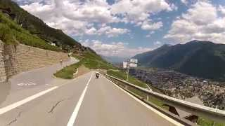 Viaje a los alpes en moto: Francia, Suiza e Italia