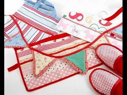 How to cut and apply bias binding by Debbie Shore thumbnail
