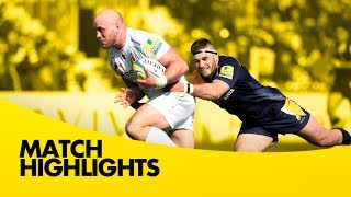 Worcester Warriors vs Exeter Chiefs - Aviva Premiership Rugby 2013/14