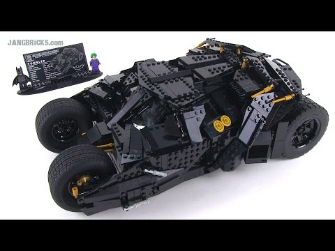 lego ucs batman tumbler set review 76023 ultimate. Black Bedroom Furniture Sets. Home Design Ideas