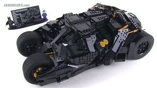 LEGO UCS Batman Tumbler set review! 76023 Ultimate Collectors' Series