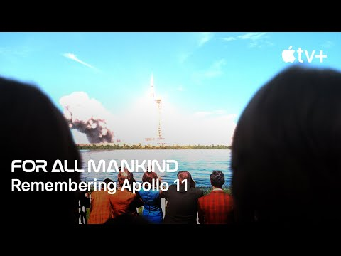 Watch how Apollo 11 set the course for Apple's alternate history space race TV drama