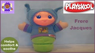 2005 Playskool Play Favorites Lullaby Gloworm Plush toy By Hasbro