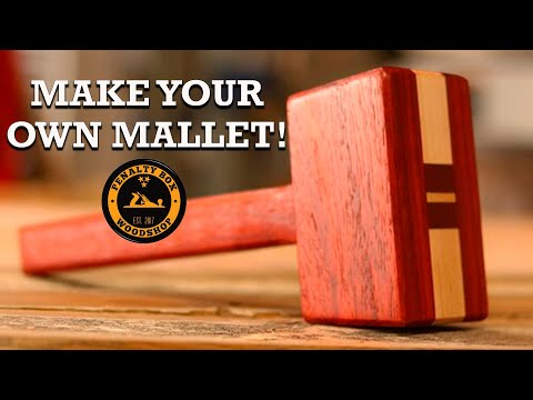 How to Make a Woodworking Mallet || DIY Mallet