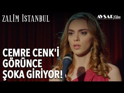 Cemre Karşısında Cenk'i Görünce Şoka Giriyor! (İlk Sahne) | Zalim İstanbul 4. Bölüm
