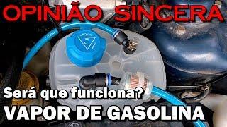Vapor de gasolina: Mito ou verdade? Desafio lançado!