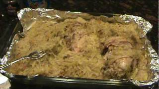 How To Cook A Pheasant  In Sour Kraut  The Easy Way - Simple And Delicious