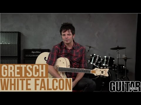 Gretsch White Falcon Demo