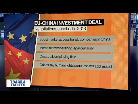 The Importance of the EU, China Investment Deal