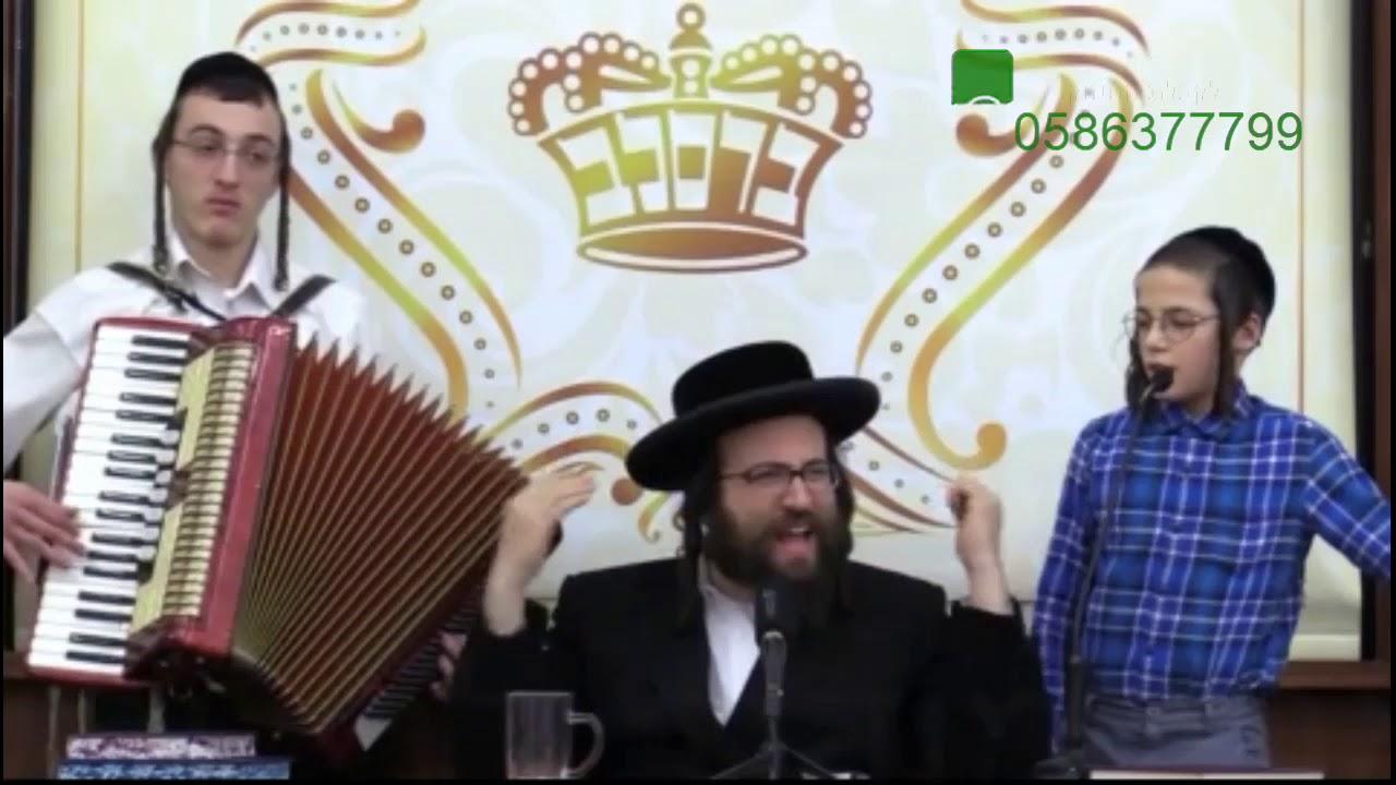 """הרב יואל ראטה שליט""""א בשירי שבחה והודיה לבורא עולם על שיחרורו של שלום רובשקין מבית האסורים!!!"""