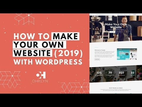 How to Make Your Own Website (2018) | Divi Wordpress Tutorial