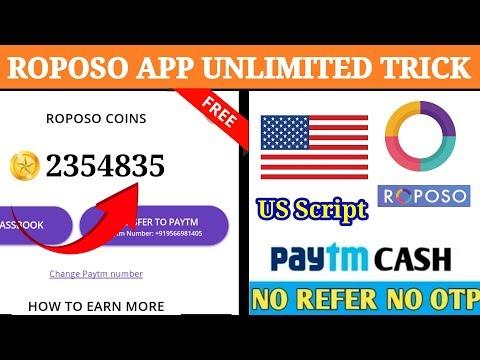 😍Roposo App |🔜 Online script ♊| & |💖Unlimited trick added| in tamil 😍|Tech Tamil Tricks|