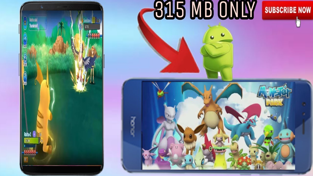 monster park apk and obb download