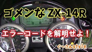 【ZX-14R】何故動かなくなったのか・・・。