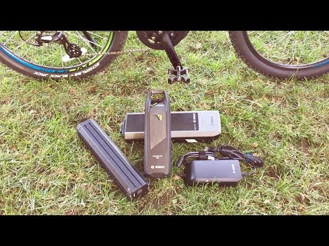 Bosch Electric Bike Battery Comparison - Powerpack vs. Powertube