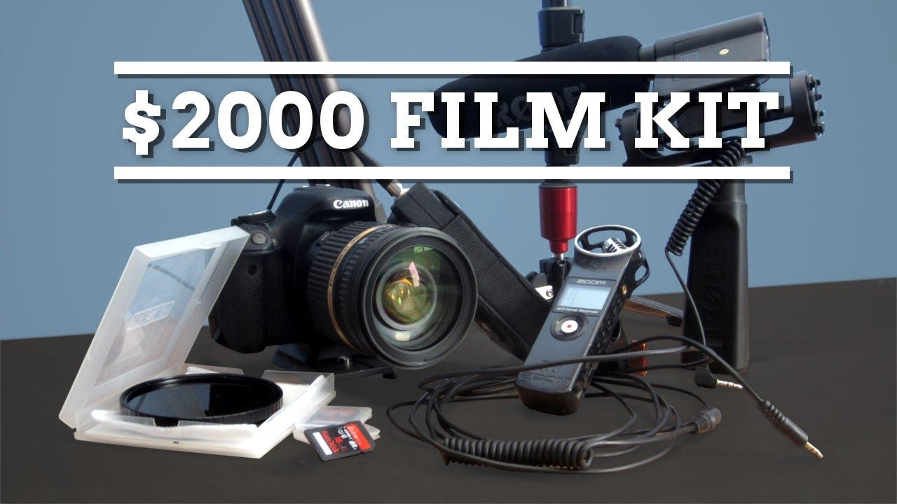 Filmmaking Kit for $2000 - YouTube
