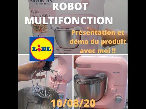 HAUL LIDL | LE ROBOT MULTIFONCTION SILVERCREST LIDL | DÉBALLAGE | PRÉSENTATION ET DÉMONSTRATION  !!