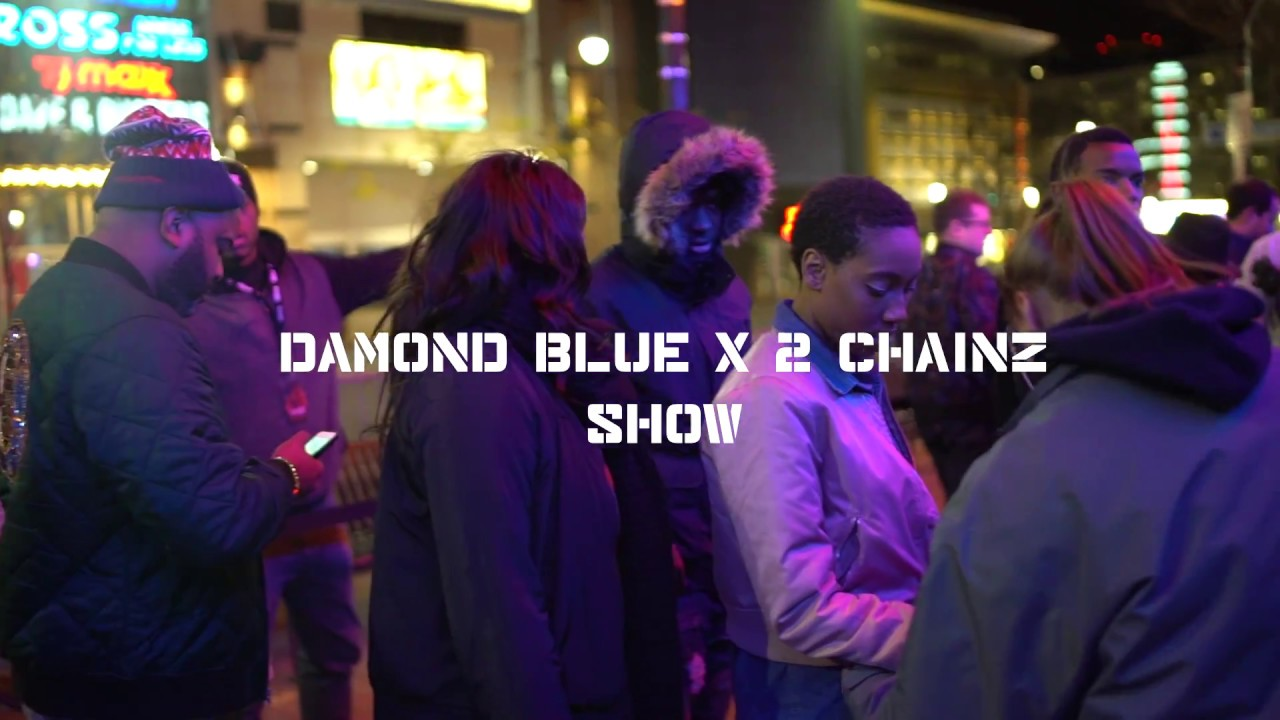 2 chainz and Damond blue Vlog