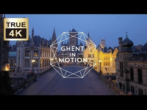 Ghent in Motion (2018), hidden pearl of Flanders, Belgium. (4,5') 4K AERIAL DRONE MOVIE