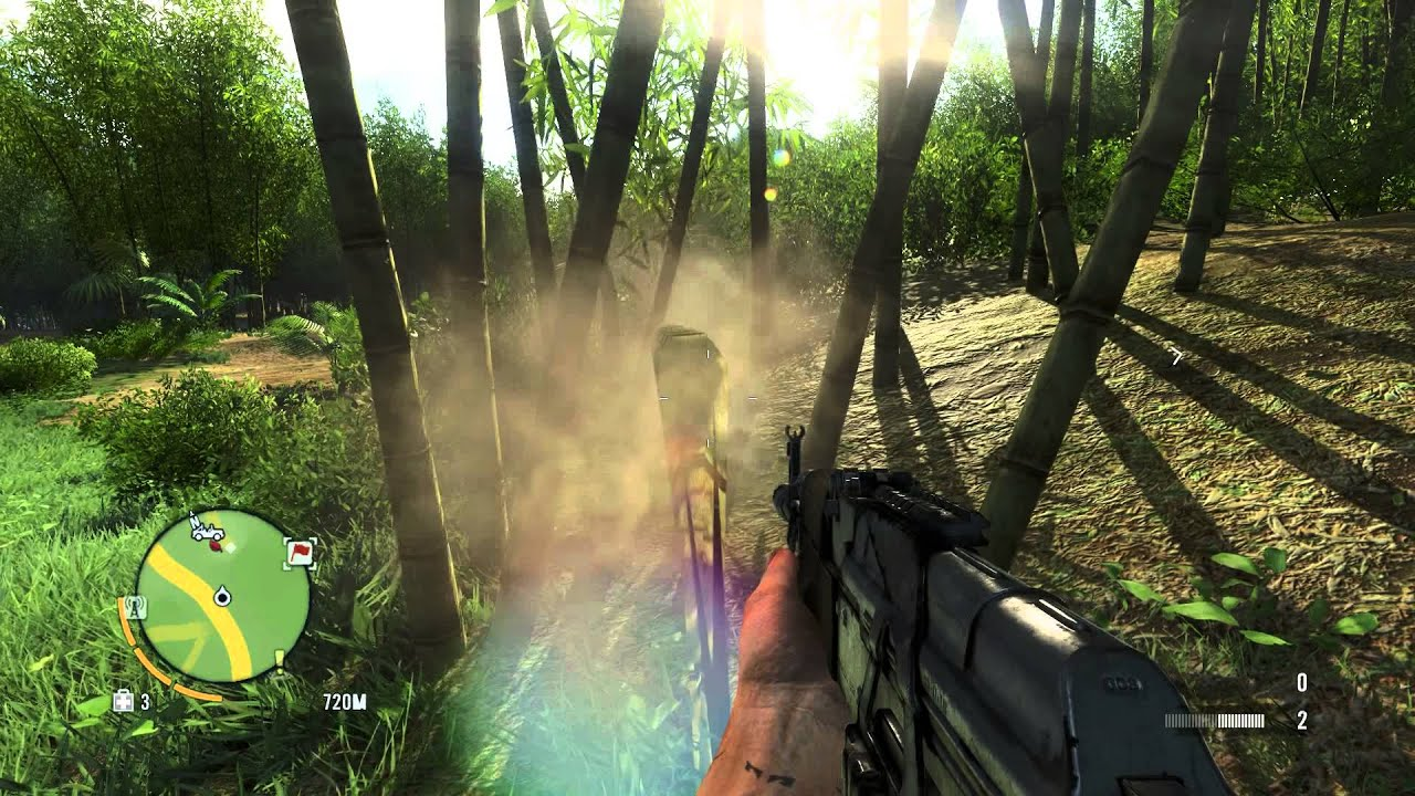 Far Cry 3 Cryengine 3 Vegetation Behavior Youtube