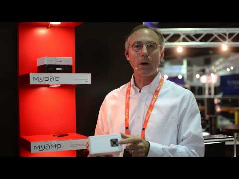 CEDIA 2014 - Micromega MyAmp Ultra Compact Integrated Amplifier