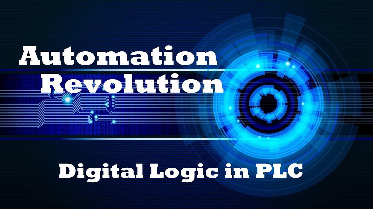 plc turotial 3 digital logic programming in plc ladder diagram automation revolution [ 1280 x 720 Pixel ]
