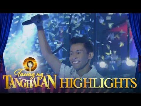 Tawag ng tanghalan: Aljun Alborme is the new champion!