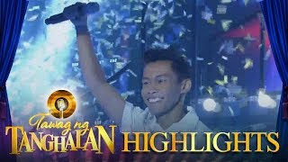 Tawag ng tanghalan: Aljun Alborme is the new champion!