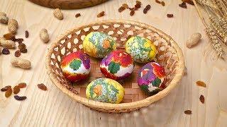 Декупаж пасхальных яиц - Рецепты от Со Вкусом