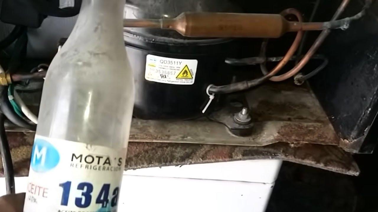 ¿COMPERSOR DE NEVERA ´R600a A 134a GAS REFRIGERANTE,´COMO LO COMBIERTO ?