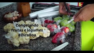 Como congelar frutas e legumes por Paula Miranda