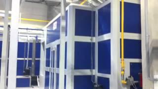 Автоматическая линия порошковой окраски Ulvedal(, 2014-08-12T07:21:08.000Z)