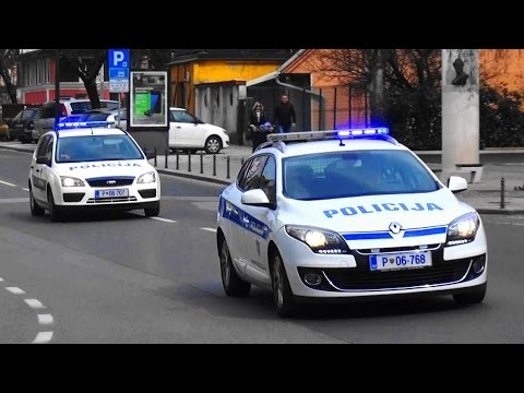 RTW Rettungsdienst + 2x Polizei Ljubljana // NMP + Policija Ljubljana