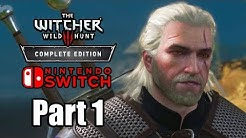 The Witcher 3: Wild Hunt (2019) Switch Gameplay Walkthrough Part 1 (No Commentary)