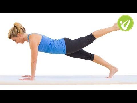 Leg Pull Front Pilates Exercise Niedra Gabriel