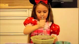 Кекс в Кружке за 5 минут.Видео рецепт с Вероникой!!!