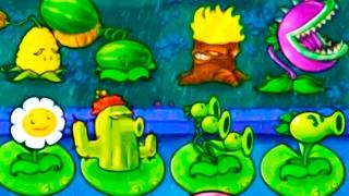 Игра - Растения Против Зомби - смотреть прохождение от Flavios #45