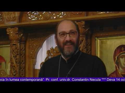 """Părintele Constantin Necula - Conferinţa cu tema """"Ortodoxia în lumea contemporană"""""""