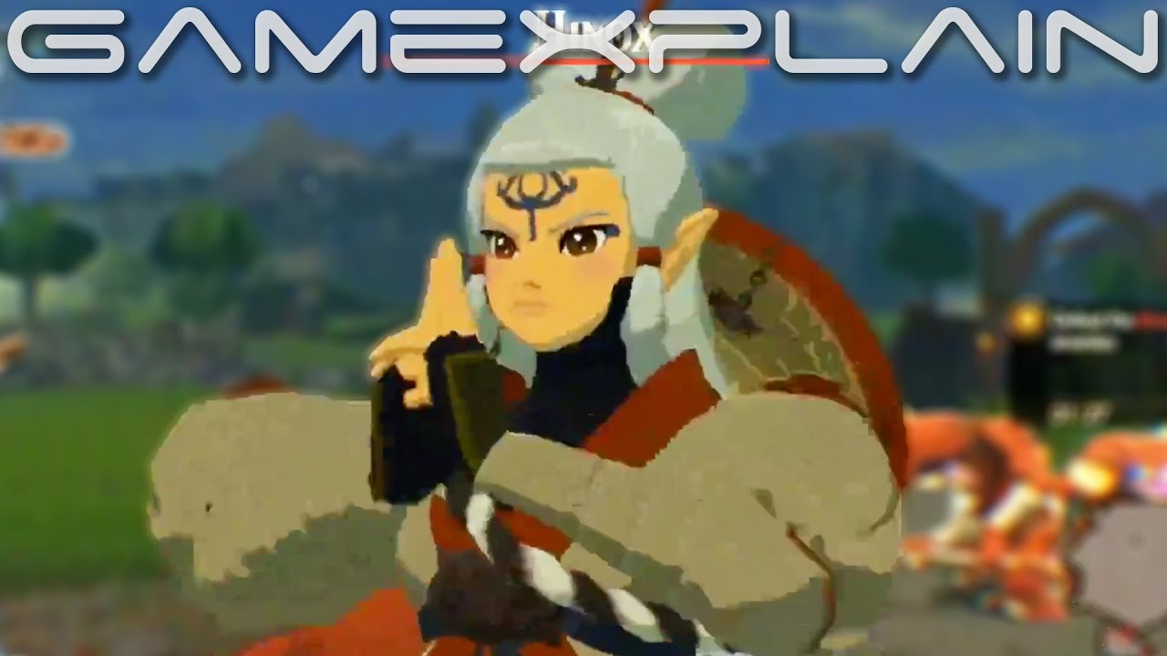 New Impa Gameplay In Hyrule Warriors Age Of Calamity Treehouse Live Youtube