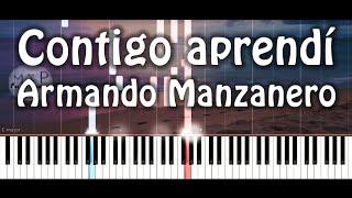 Armando Manzanero - Contigo aprendí Piano Cover