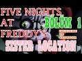 Türkçe - Five Nights at Freddy's - Sister Location - İnceleme ve Teoriler - BÖLÜM 1 #RubinQuik