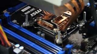 Открытый стенд(Переделка кулера Socket LGA 775 в Socket LGA1150. Intel Core i5-4670 MSI Z87-G43, Socket 1150 ATX Thermaltake BigTyp 120 VX, LGA 775 ASUS ..., 2013-12-16T16:13:29.000Z)