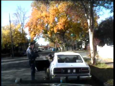 Chad Davis Traffic Stop for violation of cvc 22107 (FOUND NOT GUILTY)