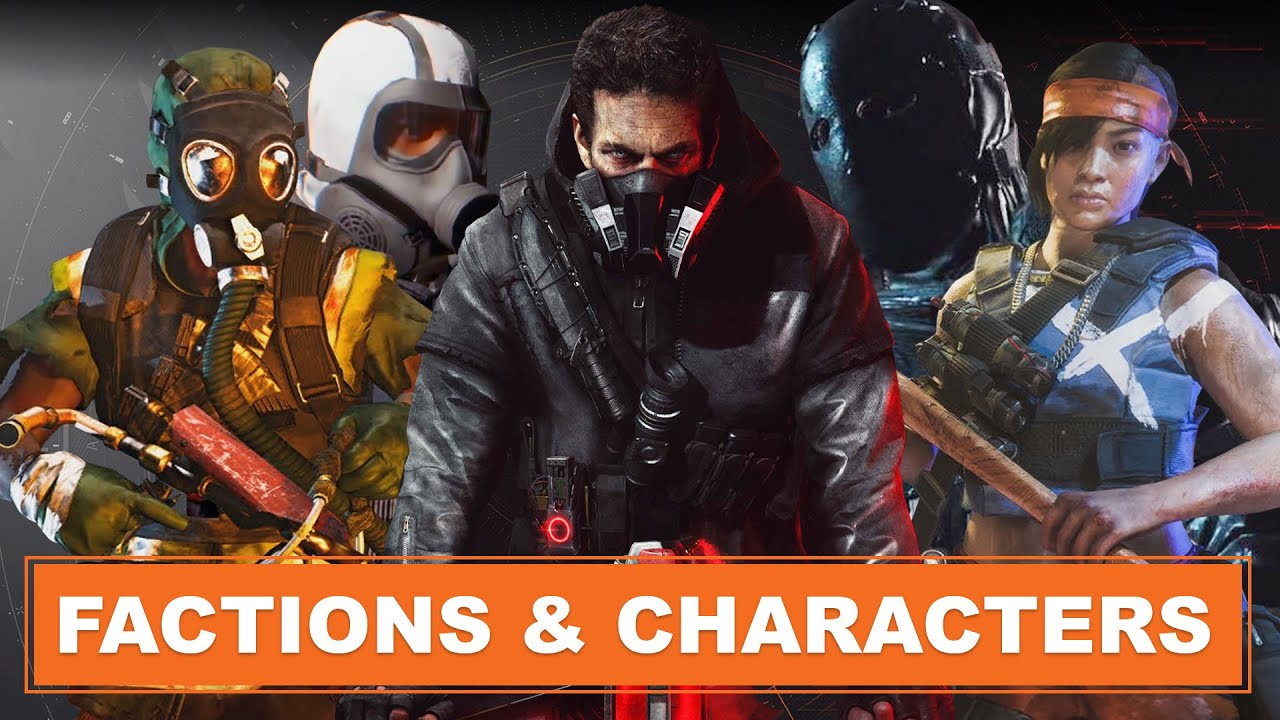 The Division 2: Warlords of New York - Story, Factions and Characters