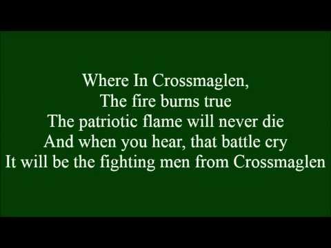 Fighting Men From Crossmaglen with lyrics