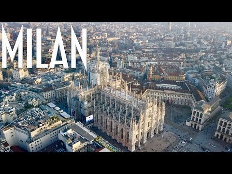Milan The Changing City | 4K drone footage of Milano Skyline in Italy